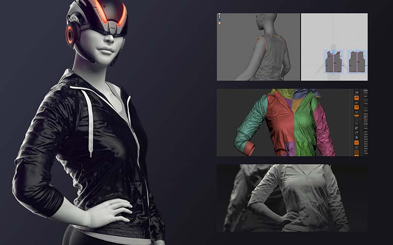 Marvelous Designer高端CG角色服装模型制作实战教程注意细节