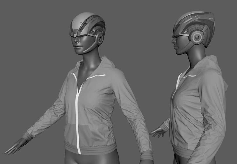 Marvelous Designer高端CG角色服装模型制作实战教程核心知识点