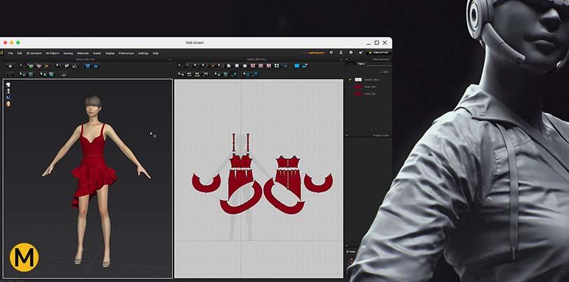 Marvelous Designer高端CG角色服装模型制作实战教程之流程全面解析