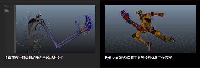 Maya高精度生物角色骨骼绑定案例教程学习收获