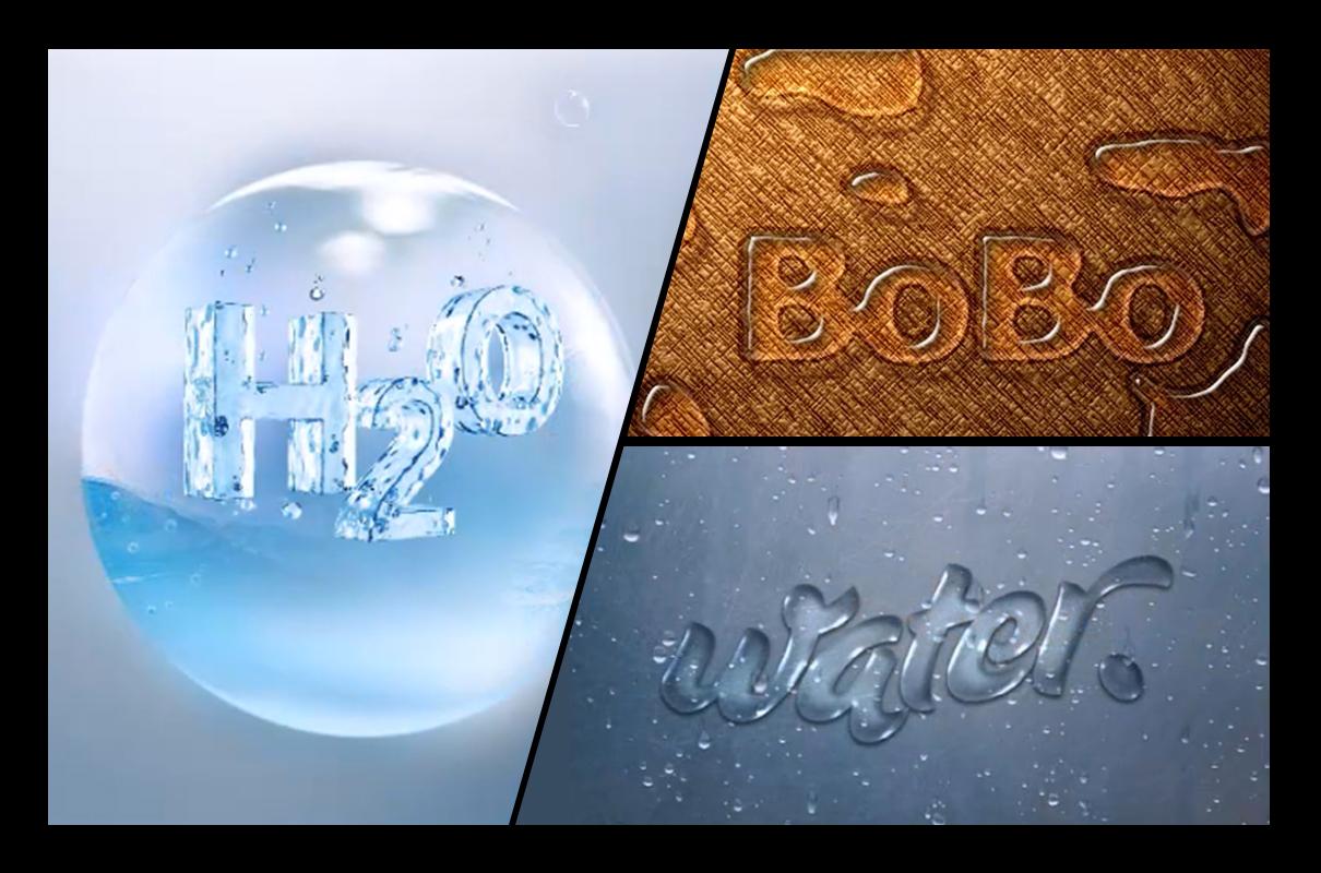 PSv水滴水滴教程教学小字体视频效果_视频下载离合器视频教学图片