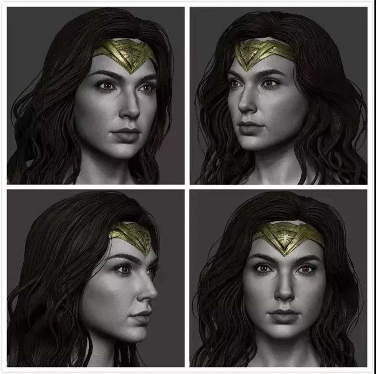Hossein Diba的作品  《Wonder Woman》