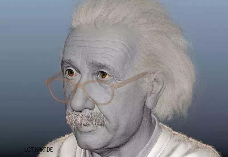 Alexander Beim的作品  《Albert Einstein》