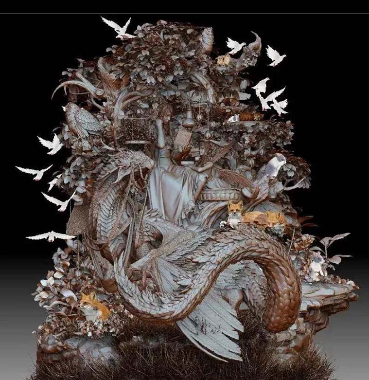 Kojiro Yahata的作品  《FairyTale》