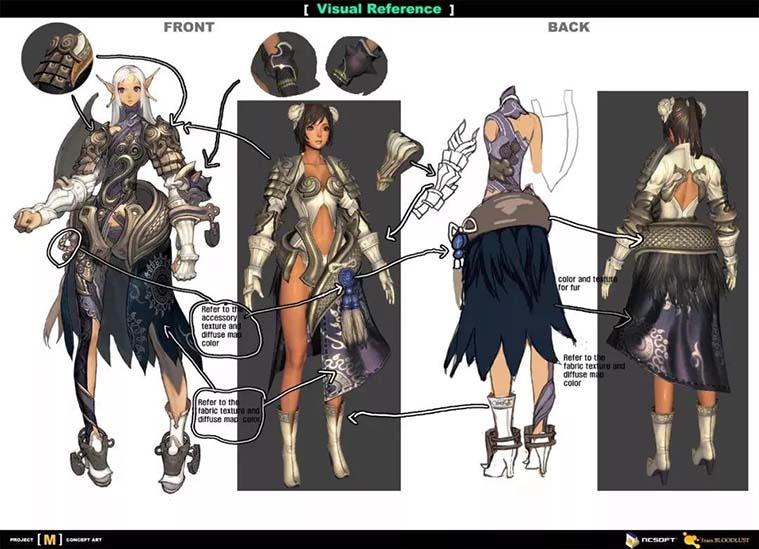《剑灵》角色设计