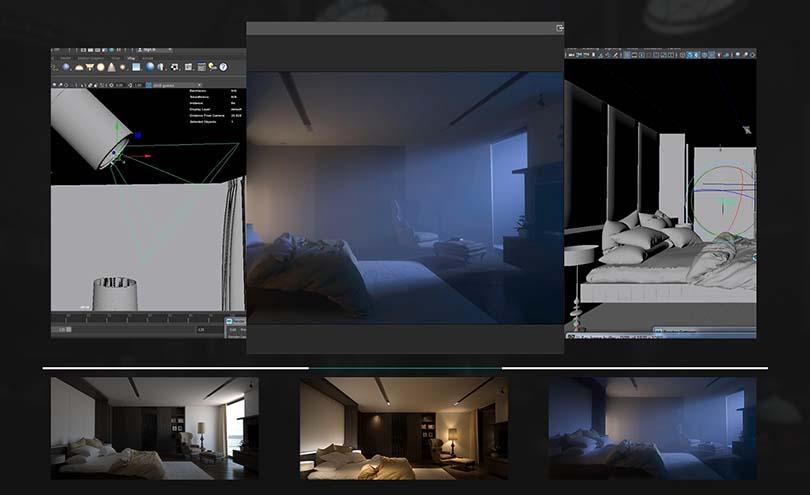 VRay渲染器使用功能详细解析案例教程特色之三大典型照明案例剖析