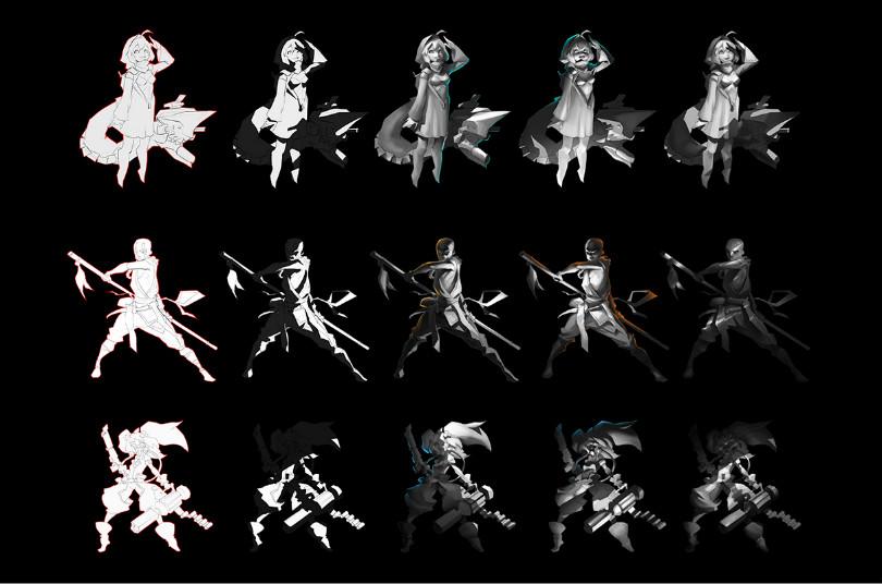翼狐网再度携手一线次世代美术大神成彬为原画设计新人量身打造,角色原画定制教学