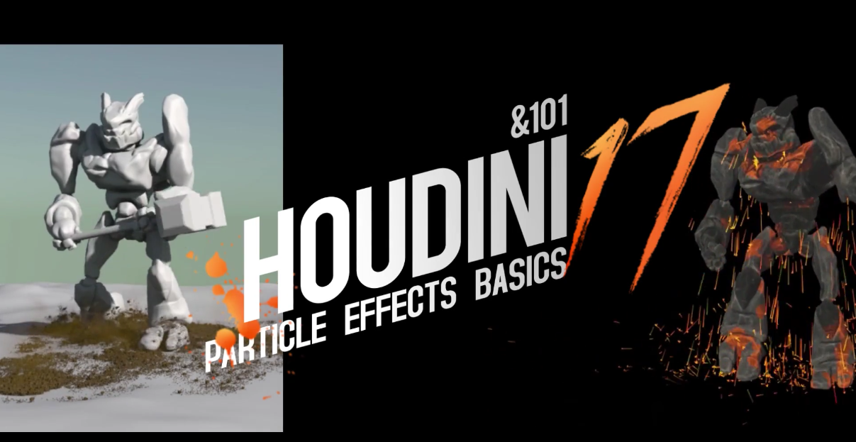 Introduction to Houdini 17:Particles视频教程_翼狐网