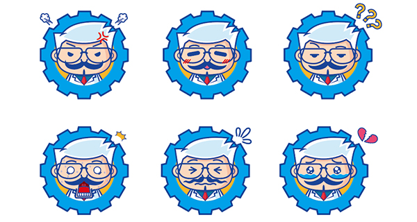 学到了2 卡通形象的表情包延展、动作延展等.jpg