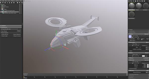 学2:学会用maya配合SP2018以及 Marmoset Toolbag3做出高精度的游戏飞行器.jpg
