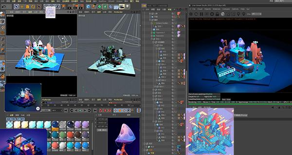 学到了2:卡通风格化场景的打光方法,思路,实现影像级表现.jpg